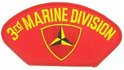 US Marine Corps 3rd Marine Division Patches
